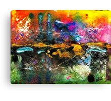 There's a Celebration in the City Canvas Print