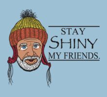 STAY SHINY MY FRIENDS Kids Tee