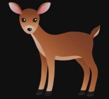 Female Deer Baby Tee