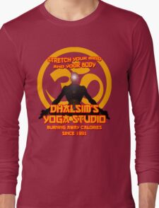 Dhalsims Yoga Studio Long Sleeve T-Shirt