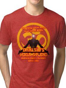 Street Fighter - Dhalsim's Yoga Studio Tri-blend T-Shirt