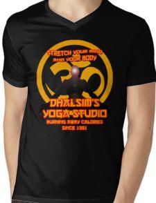 Dhalsims Yoga Studio Mens V-Neck T-Shirt