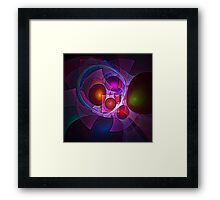 Geometries Framed Print