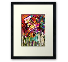 We See LOVE Everywhere Framed Print