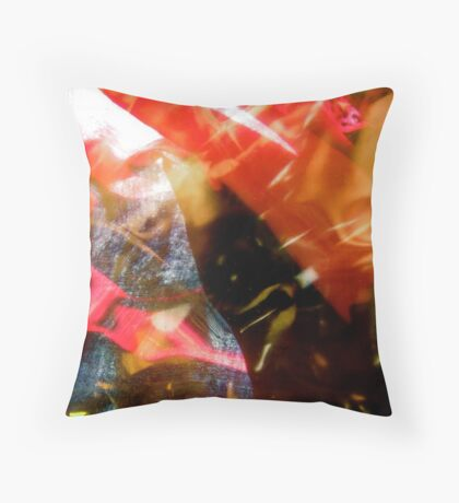 Abstract 1945 Throw Pillow