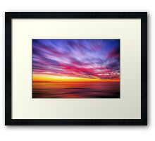 ~ Dawn Fireworks ~ Framed Print