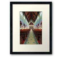The Cathedral Church of Saints Mary & Joseph • Armidale • New South Wales Framed Print