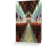 The Cathedral Church of Saints Mary & Joseph • Armidale • New South Wales Greeting Card
