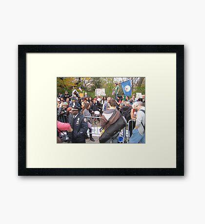 OWS Uptown Framed Print