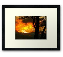 The Beauty of Shadow and Light Framed Print