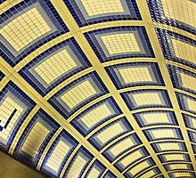 Tile Ceiling With A J by SuddenJim