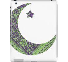 Purple Green Moon iPad Case/Skin