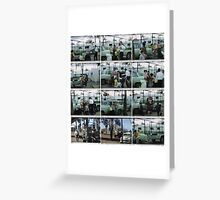 The leaving of Villawood (Hostel).  Greeting Card
