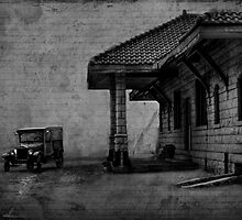 The Train Station by Thomas Young