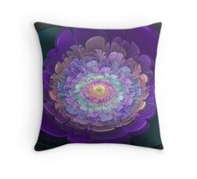 Pastel Bloom Throw Pillow