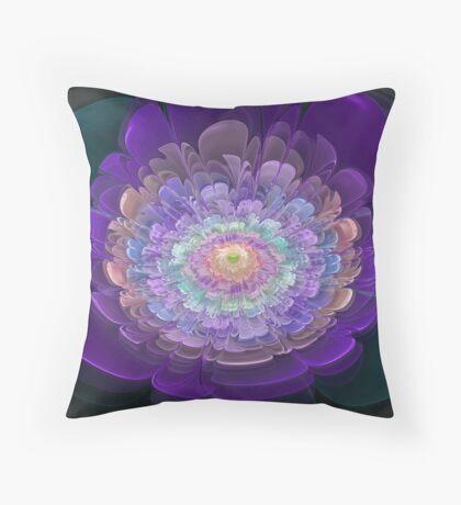 Pastel Bloom Throw Pillow