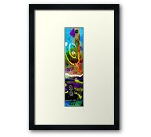 Seeing LIGHT Amidst Darkness Framed Print