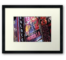 Times Square, New York City Framed Print