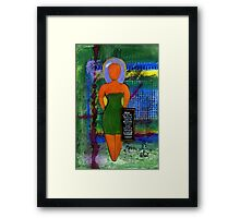 STANDing 4 Something Framed Print