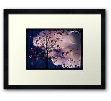 The Paisley Tree Framed Print