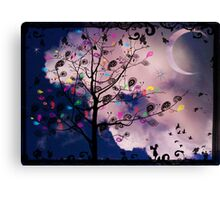 The Paisley Tree Canvas Print