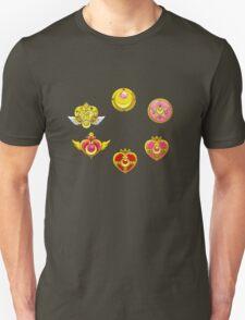 Sailormoon All Brooch Unisex T-Shirt