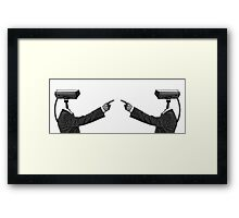 Snitches Are Bitches Framed Print