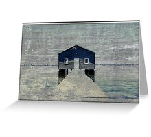 Crawley Boatshed Greeting Card