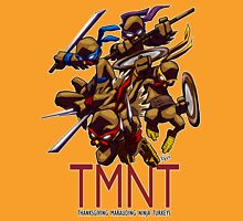 TMNT Thanksgiving Tee Unisex T-Shirt