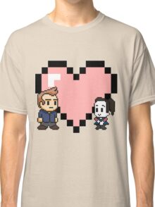 Community - Jeff and Annie 8-bit (style B) Classic T-Shirt