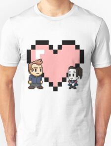 Community - Jeff and Annie 8-bit (style B) Unisex T-Shirt