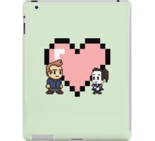Community - Jeff and Annie 8-bit (style B) iPad Case/Skin