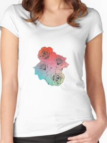 Roses Women's Fitted Scoop T-Shirt