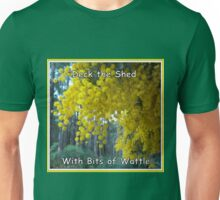 Deck the Shed Unisex T-Shirt