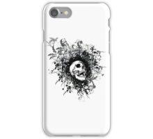 Skull Floral Explosion iPhone Case/Skin