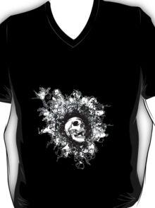 Skull Floral Explosion T-Shirt