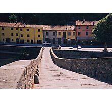 Lucca - On Devil's Bridge Photographic Print