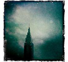 Downtown Downpour Photographic Print
