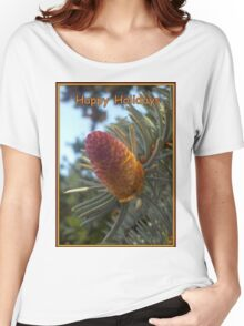 Holiday Spruce Women's Relaxed Fit T-Shirt