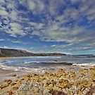 Point Addis- Mirrored Sand Lines by LJ_©BlaKbird Photography