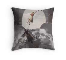 'Away I Go' Throw Pillow