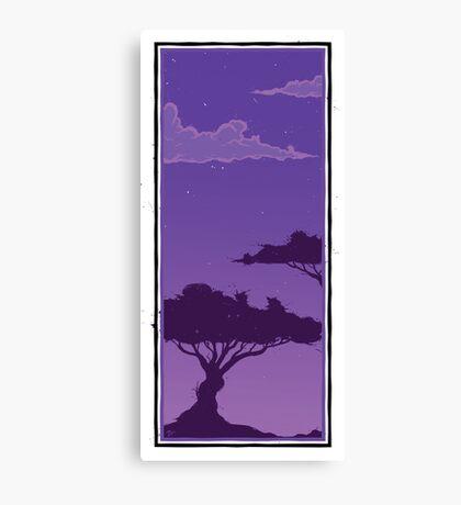 Two Tree - Dusk 1 Canvas Print