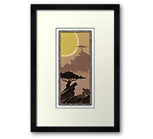 Two Trees - Rocky 1 Framed Print