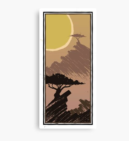 Two Trees - Rocky 1 Canvas Print