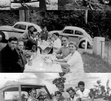 Those early years, in Australia. Friends. Cars. Picnics.  by MrJoop