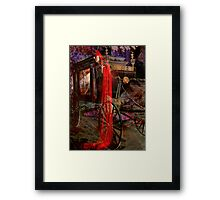 NO ONE KNOWS THE DAY NOR THE HOUR Framed Print