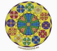 Modernist Art Guell Crypt n1 by Mandala's World