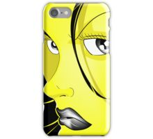 Renaissance girl iPhone Case/Skin