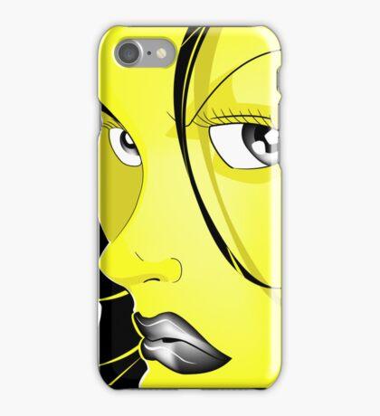 Renaissance girl iPhone Case/Skin