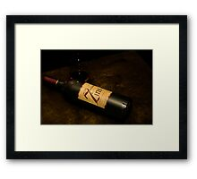 7 Deadly Zins - Raw  Framed Print